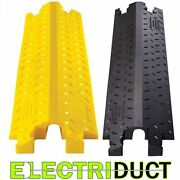 Do-max 1.5 Single Channel Cable Protectors - Yellow Black