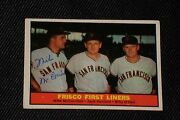Mike Mccormick 1961 Topps Frisco First Liners Signed Autographed Card 383