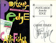 Carrie Fisher Signed Autographed Postcards From The Edge Hc 1st Ed 1st Print '87