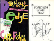 Carrie Fisher Signed Autographed Postcards From The Edge Hc 1st Ed 1st Print And03987