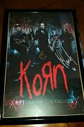 Korn Signed Return Of The Dreads 2016 Tour Poster