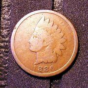 1886 Indian Head Cent Obv - No Legends - Possibly The Only One In Existence