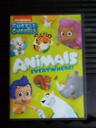 Bubble Guppies Animals Everywhere 2014 Dvd Like New