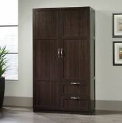 Storage Cabinet With Drawers Wardrobe Closet Clothes Organizer Solution Doors