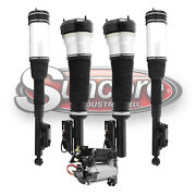 2000-06 Mercedes S500 W220 Front And Rear Air Struts, Air Compressor And Relay Kit