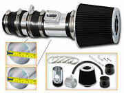 Bcp Black For 08-12 Accord And Crosstour 3.5 V6 Tl Racing Air Intake Kit +filter