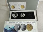 Israel 2010 Biblical Art Jonah In Belly Whale Coin Of The Year 2012 Silver Set