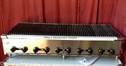 New 60 Lava Rock Gas Char Broiler Grill Stratus Scb-60 4495 Commercial Bbq Usa