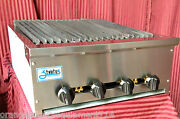 New 24 Radiant Char Broiler Gas Grill Nsf Stratus Srb-24 1122 Commercial Bbq