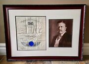 President Theodore Roosevelt Signed / Autographed 1905 Naval Appointment Psa 10