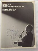 Authentic Frank Sinatra Autograph W/ Musical Conductor Bill Miller