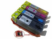4 Refill Hp 564 Ink Cartridges Refillable Ink For Officejet 4620 4622 3520