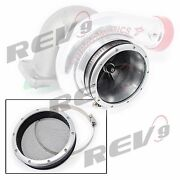 Rev9 One Piece Design Turbo Inlet Grill Protector Mesh Guard 4 Ac-102 Silver