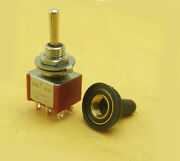 40 Pcs Waterproof On Off On Momentary Mini Toggle Switch 6-pin M6 250v 125v