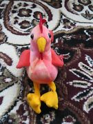 Strut Rooster Ty Beanie Baby Origional 1996 Retired Rare 6 Error Odd Collectable