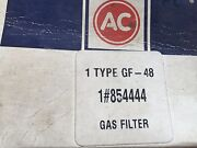 854444 Ac Delco Fuel Filter Without Glass Bowl - 1953-65 Corvette Chevrolet