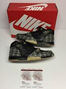 Bo Jackson Dual Signed Nike Air Trainer 1 Prm Qs Paid In Full Shoes Jsa