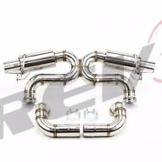 Rev9 Fit Audi R8 5.2l V10 09-15 X-pipe 3 Stainless Catback Exhaust Performance