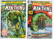 The Man-thing 1 1974 20andcent And 1979 40andcent 2nd Howard The Duck Marveland039s Swamp Thing