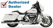 Bassani Chrome Road Rage 2 Into 1 Exhaust Pipe Straight Can 17-21 Harley Touring