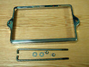 1955 1956 Chevy Battery Retainer Hold Down Polished Stainless Steel Usa Made
