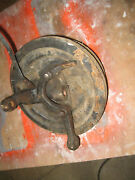 1966 67 Chevrolet Chevelle 396 Gto 442 Right Spindle Backing Plate Brake Drum