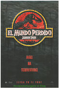 Jurassic Park Ii And The Land That Time Forgot Orig. Span. Movie Posters Dinosaurs