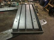 34 X 16 Steel Welding T-slotted Table Cast Iron Layout Plate 3 Slot