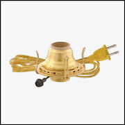 2 Oil Kerosene Lamp Electric Burner Fits Old Oil Lamps With 2 Threads - New