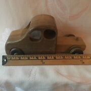 Wooden Truck And Trailer - Wood Vintage Toy - Playforms New York - 18