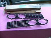 1971 Ford Torino Fairlane Grilles Lh And Rh Nos Headlight Bezels