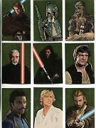Star Wars Galaxy 5 Complete Gold Foil Chase Card Set 1-15