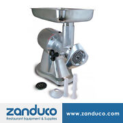 Omcan Commercial Heavy Duty 12 Stainless Steel Meat Grinder 1 Hp Mg-cn-0012-e