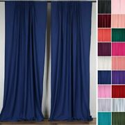 Polyester Professional Backdrop Curtains 10ft X 10ft Background Decorations Sale