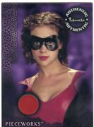 Charmed Power Of The Three Pieceworks Card Pw5 Red Alyssa Milano