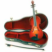 Miniature 8 Violin Bow And Case For Display - Fast Shipping