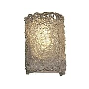 Justice Design Wall Sconce - Gla-5542-lace-crom