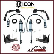 Icon S2 Secondary Shock System Stage 3 For 10-14 Toyota Fj Cruiser K53123