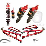 Elka Legacy Front And Rear Shocks Jd Long Travel A-arms Yamaha Raptor 700r