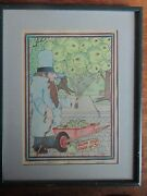 The Balloon Man By Lee Stone Framed And Signed 11 X 14 Inches Limited Edition