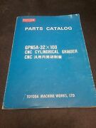 Toyoda Parts Catalog_gpn5a-32x100 Cnc Cylindrical Grinder
