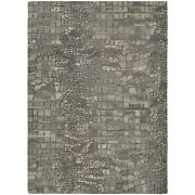 Couristan Super Indo And Natural Castle Manor Greystone Rug