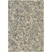 Couristan Easton Prescott Ivory And Black And Grey Rug