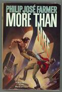 More Than Fire By Philip Jose Farmer First Edition