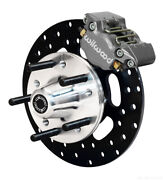 """1971-1980 Mustang Ii And Pinto,wilwood Dynapro Front Drag Brake Kit,10"""" Rotors"""