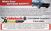 Streetgrip System By Ridetech,1964-1966 Ford Mustang Gt 350,shocks,sway Bars