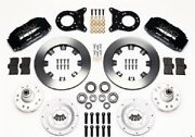 1970-1973 Ford Mustangcougar Wilwood Dynapro 6 Front Brake Kit12.19 Rotors