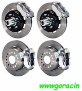 Wilwood Disc Brake Kit1955-1957 Chevy12 Drilled Rotorspolished Calipers210
