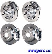 Wilwood Disc Brake Kit,complete,1964-1972 Chevelle,12 Rotors,polished Calipers