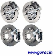 Wilwood Disc Brake Kitcomplete1964-1972 Chevelle12 Rotorspolished Calipers